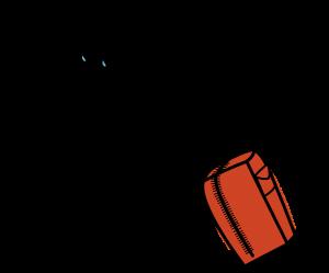 Schwere Reisetasche mit Rollen